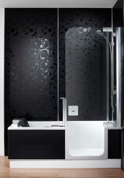 duschbadewanne artlift mit artwall badsanierung m nchen. Black Bedroom Furniture Sets. Home Design Ideas